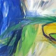 Barbara Schiestl. Malerei, RadegunderZyklus. Landschaftsversatzstücke, Gefühlskaleidoskop, Naturmystik