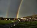 Regenbogen über Waidach