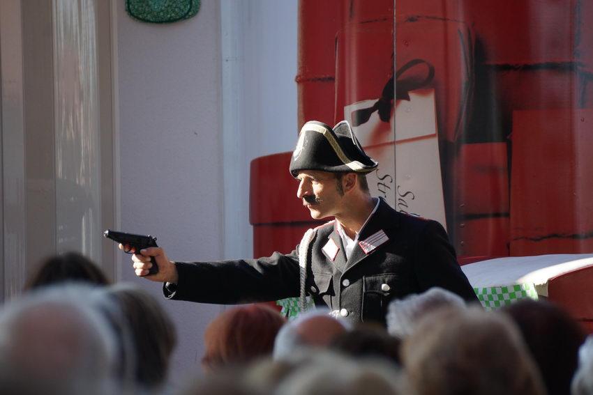 Salzburger Straßentheater in Lamprechtshausen