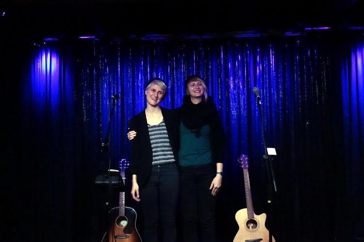 Lucia Leena und Bianca Ortner
