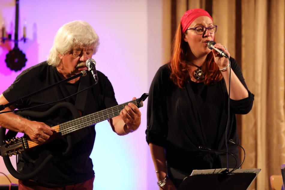 Nane Fr4ühstückl und Helmut Punzenberger Jazzherbst Oberndorf Bahnhofswirt