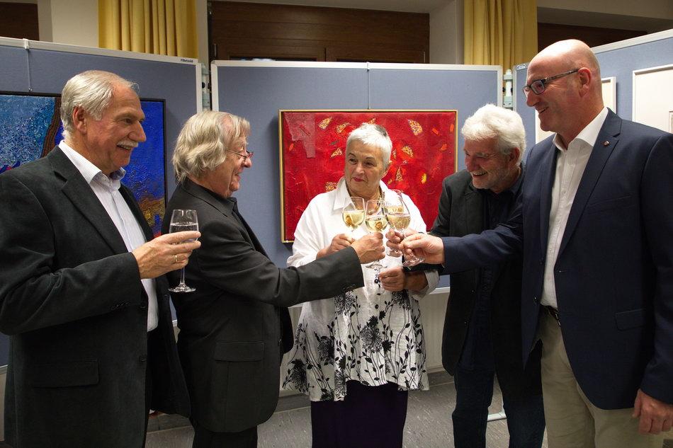 Vernissage Edmund Rilling Kulturkreis Saaldorf Surheim