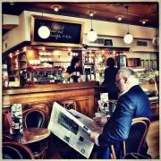 Im Cafe Classik am Salzburger Markartplatz