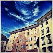 Hausfassade am Waagplatz