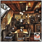 Im Café Steinbach in Laufen
