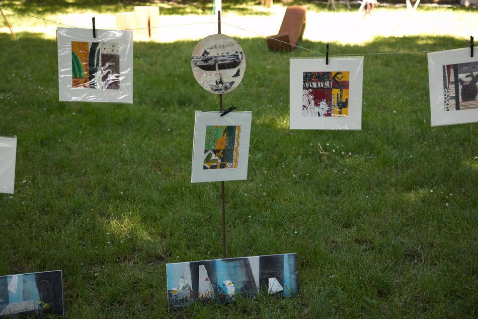Kunst treibt Blüten im Schlosspark Schärding