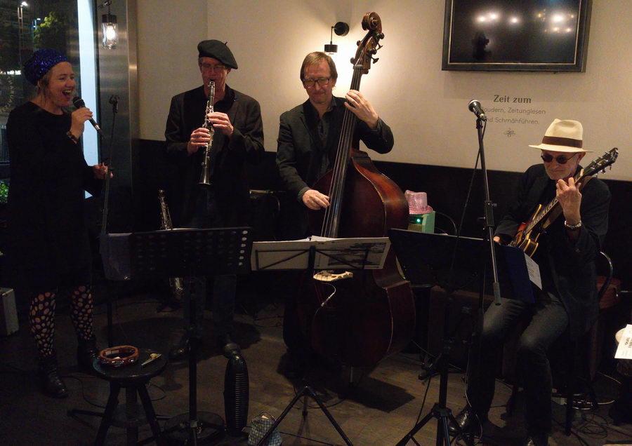 Jazz im Johann am Hauptbahnhof Salzburg mit Jazzbrothers and Sister