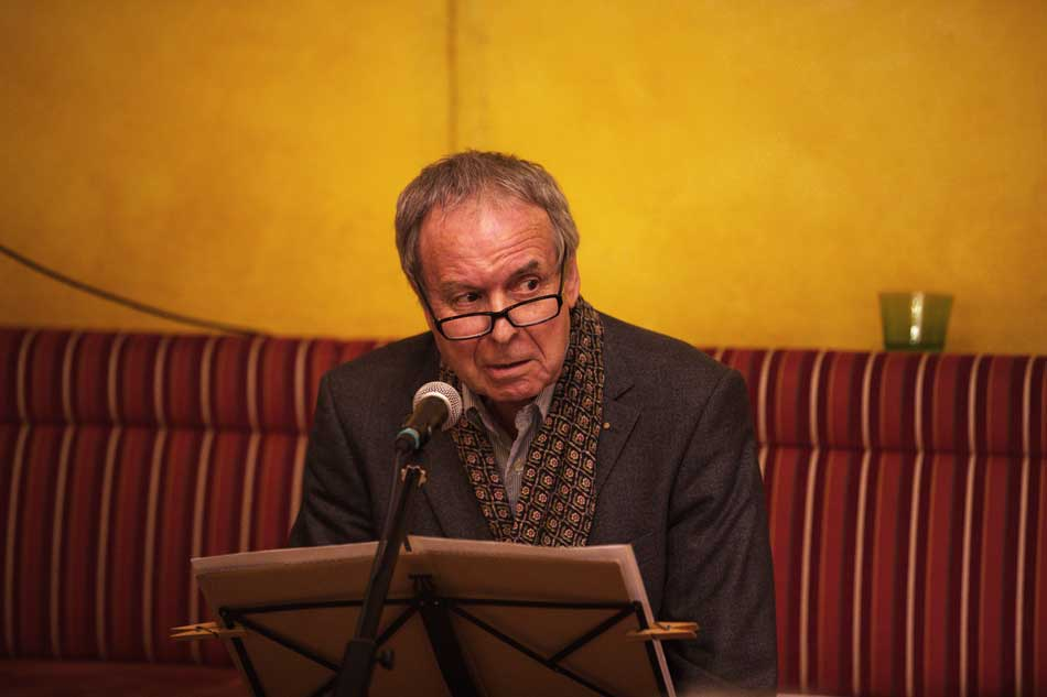 Literatur im Cafe Mozart mit Werner Friedl und Sigrid Gerlach