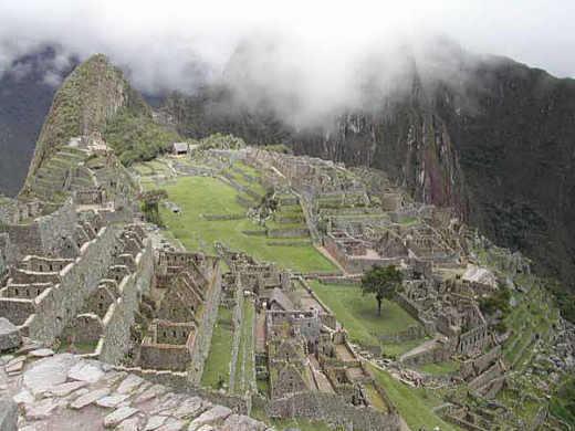 Machu-Picchu, die Stadt