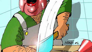 Cartoon by Michael Honzak