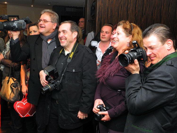Das Interesse war groß, alle hatten etwas zum Schauen und Fotografieren.