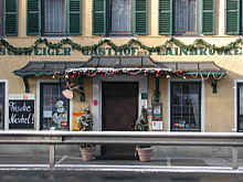 Schweiger´s Gasthaus zur Plainbrücke am Stadtrand von Salzburg wird als sehr gute italienische Trattoria geführt.