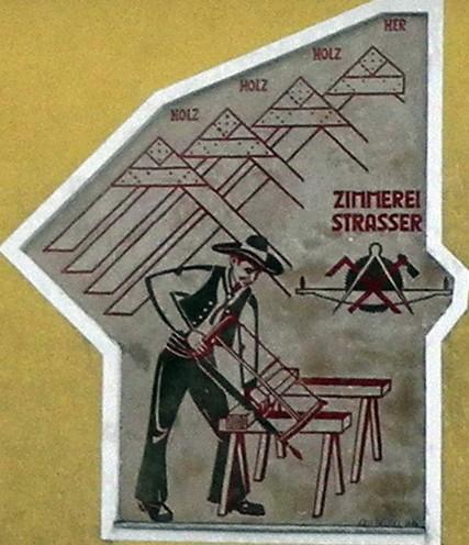 Wandgraffiti von Erli Beutel Windischbauer
