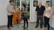 Second Ground (Hagen Schiffler, Gitti Edelmann) mit Dr. Karl Traintinger und Mag. Heidi Hirscher