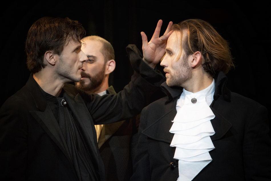 v.l.n.r: Matthias Hinz (St. Just), Moritz Grabbe (Barère), Magnus Pflüger (Collot)