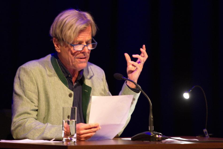 """""""Einscheunen"""" im K.U.L.T. in Hof   LiteraturLobbyLand   Peter Reutterer"""