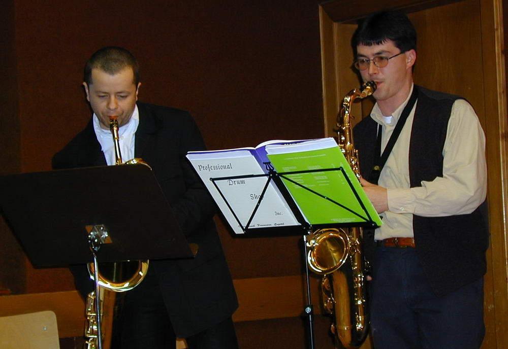 Peter Niederreiter und Manfred Kratochwil