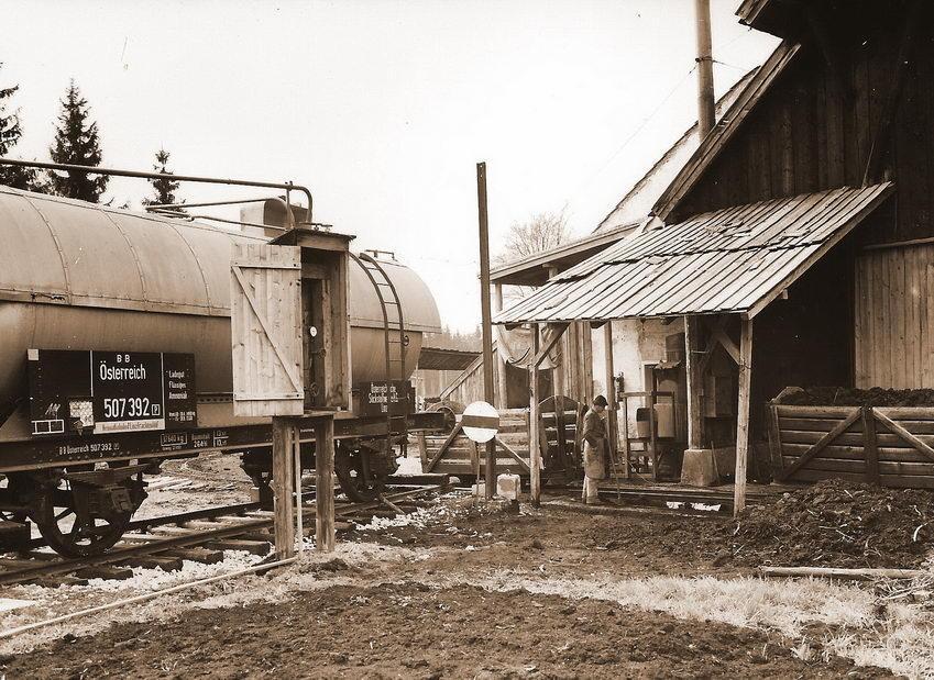 Ammoniak Tankwagen ÖBB