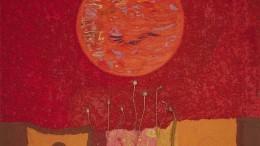 Ausschnitt aus dem Bild Mohnsonne von Christine Smaczny