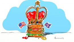 2018 royalwedding Hamburger und Plumpudding