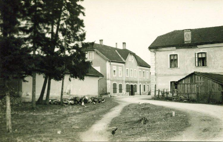 13 Herrenhaus, Jagerhaus 40er Jahre
