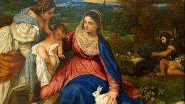 Tiziano Vecellio -La Vierge á l´Enfant | Louvre Paris
