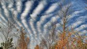Wolken über dem Schönramer Filz | Foto: KTraintinger