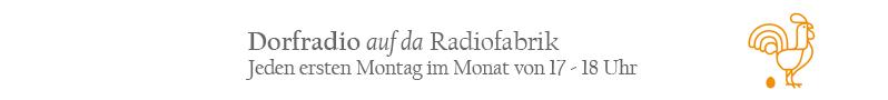 Dorfradio auf da Radiofabrik