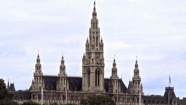 Das Wiener Rathaus.