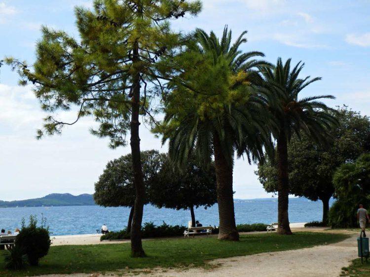 Zadar Hafenpromenade