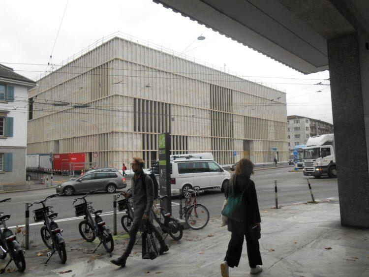 Das neue Kunsthaus in dem die Bilder von Emil Bührle ausgestellt werden sollen
